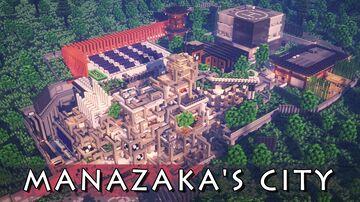 MANAZAKA's city (Gasangdong) 1.14.4 Minecraft Map & Project