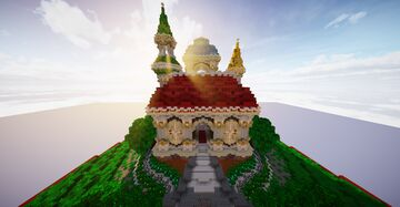 Small Colour Palace Minecraft Map & Project