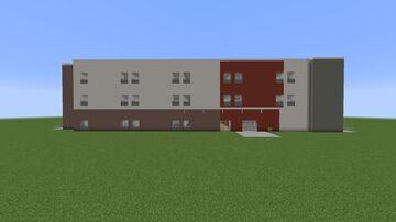 Modern Hotel 1 Minecraft Map & Project