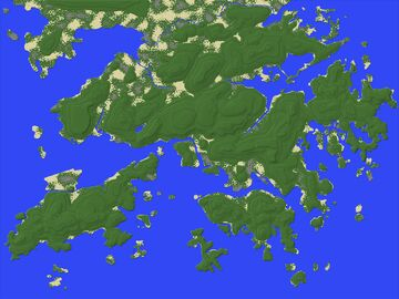 Minecraft Hong Kong Topographic Map 香港地形圖 (1:10) (PC/Java Edition) Minecraft Map & Project