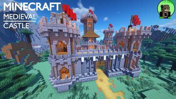 Medieval Palace Minecraft Maps Planet Minecraft Community