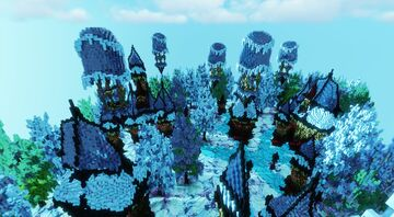 Walking in a Winter Wonderland; Wisternia - A Winter Themed Mini-Contest Entry Minecraft Map & Project
