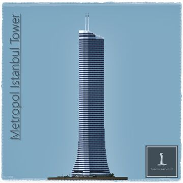 Metropol Istanbul Tower, Istanbul Turkey [Full Interior] Minecraft Map & Project