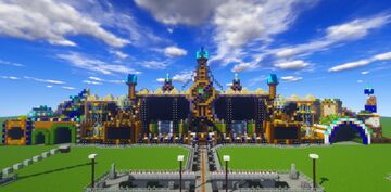"Minecraft | Tomorrowland 2020/2021 ""The Reflection of Love"" Mainstage [concept] 