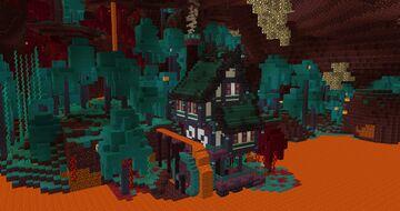 Minecraft Nether Lava Mill - TUTORIAL Minecraft Map & Project