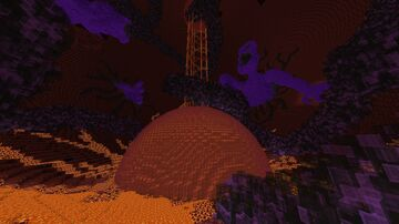 Attack on Nether - Nether Build Contest Submission Minecraft Map & Project