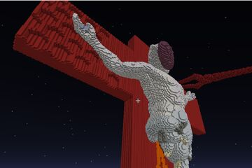 Lillith from Evangelion Minecraft Map & Project