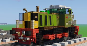 British Rail Class 07 Diesel Shunter Locomotive Minecraft Map & Project