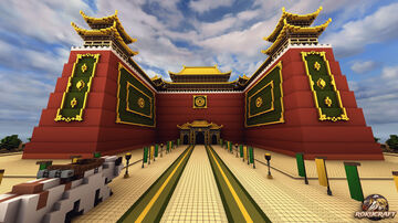 The Earth Kingdom Palace Gate | Rokucraft Minecraft Map & Project