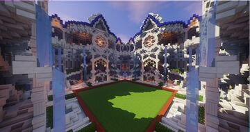 Victorian BuildBattle Arena Minecraft Map & Project