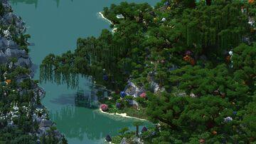 HeartLand - custom terrain Minecraft Map & Project