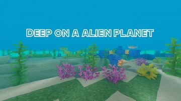Deep on a alien planet │ Survival Minecraft Map & Project