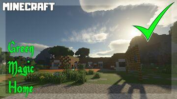 Green Magic Home MURANO Hobbit Hole - 1.16.1 Minecraft Map & Project