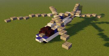 Jurassic Park [Aircraft] Agusta A109 Minecraft Map & Project
