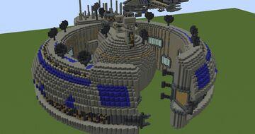Lucrehulk-class battleship | Minecraft 1.12.2 Minecraft Map & Project
