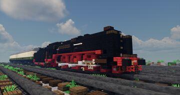 DRG BR 01 Steam Locomotive Minecraft Map & Project