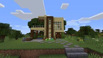 Casa Olha Olha /House Olha Olha Minecraft Map & Project
