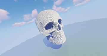 Large Skull Schematic Minecraft Map & Project