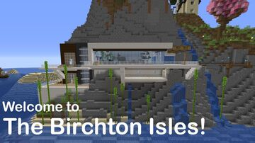 The Birchton Isles - By RedFireRex Minecraft Map & Project