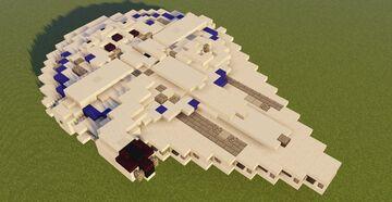 Star Wars YT-1300 Millennium Falcon [Lando's] Minecraft Map & Project