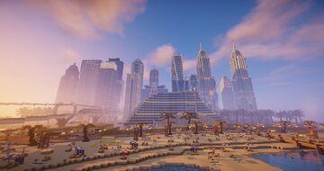 Sześcianowo City Dubai District Minecraft Map & Project