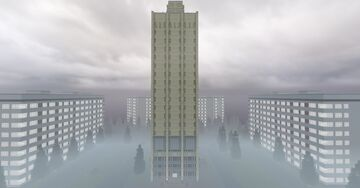 Russian State Navy Archive Building (RGAWMF) Minecraft Map & Project