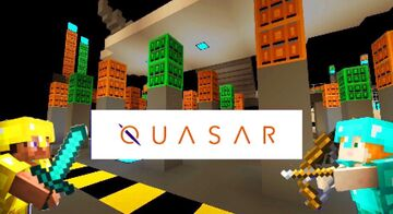 TEAM DEATHMATCH PVP: QUASAR - THE ULTIMATE EXPERIENCE Minecraft Map & Project