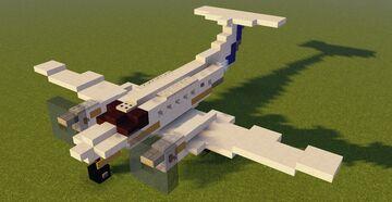 Jurassic Park [Aircraft] Beechcraft B200 Minecraft Map & Project