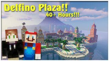 Delfino Plaza!! (Super Mario Sunshine!) Minecraft Map & Project