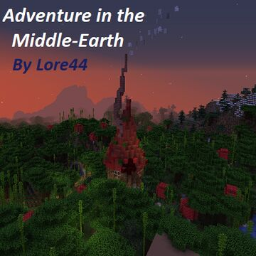 Adventure in the Middle-Earth Minecraft Map & Project