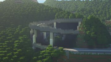 Hinode Pass (Japanese Inspired Mountain Road) Minecraft Map & Project