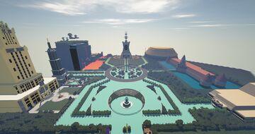 Neon Park -Original Minecraft Theme Park- Minecraft Map & Project