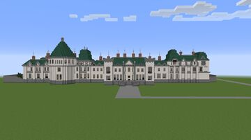 The Phantomhive Manor from Kuroshitsuji (Black Butler) Minecraft Map & Project