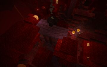 Crimson Cabin Minecraft Map & Project