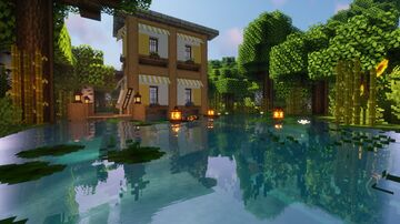 Helianthus Cottage Minecraft Map & Project