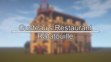 Ratatouille | Gusteau's Restaurant Build Minecraft Map & Project