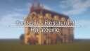 Ratatouille | Gusteau's Restaurant Build Minecraft Map & Project