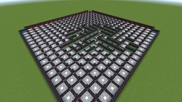 16x16 Ephemeral Redstone Maze Minecraft Map & Project