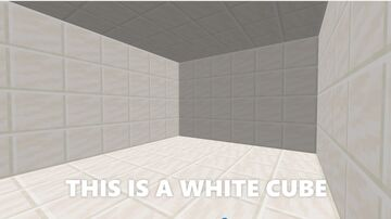 White Cube! Minecraft Map & Project