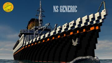 NS GENERIC (1969) [FULL INTERIOR] Minecraft Map & Project