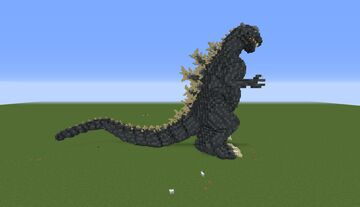 Godzilla 1954 (ゴジラ) Minecraft Map & Project