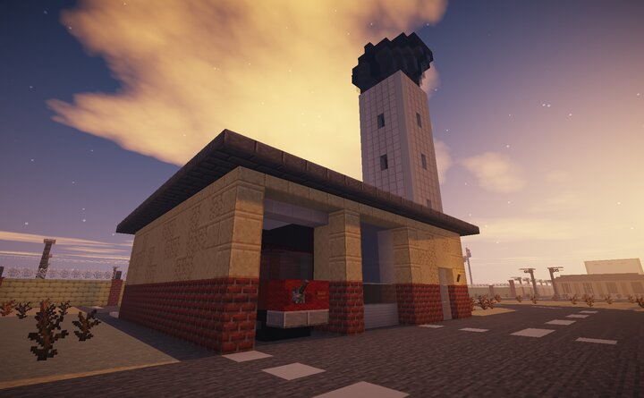 Fire Station and Control Tower