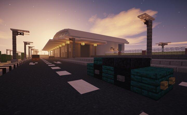 Main Entrance to Civil Terminal