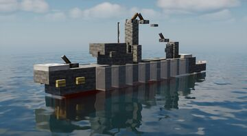 1:10 Scale Ships! Minecraft Map & Project