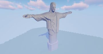 Jesus Statue Brazil Minecraft Map & Project