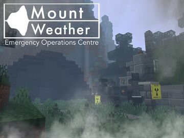 Mount Weather | Nuclear Fallout Shelter Minecraft Map & Project