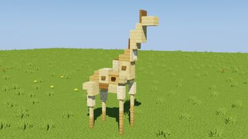 Giraffe Minecraft Map & Project