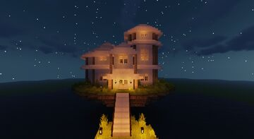 Up in the Air House Minecraft Map & Project