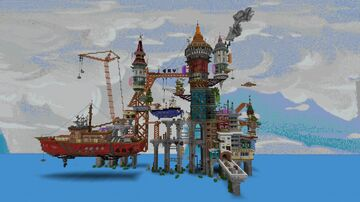 Sea breeze Minecraft Map & Project