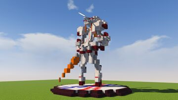 Action Figure Build - Strelitzia (Darling In The FranXX) Minecraft Map & Project